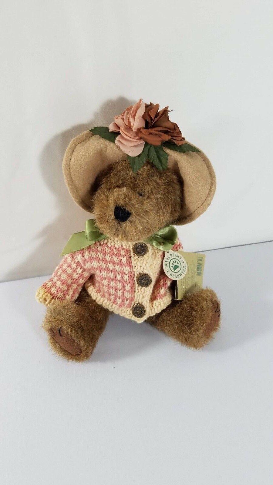 "Boyds Bears MRS. MERTZ Bear 10"" plush w/Tag (1985-98)"