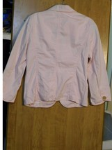 WOMENS PINK JACKET WEATHERED & BROKEN-IN BY J. CREW CHINO STYLE 73557 / ... - $19.99