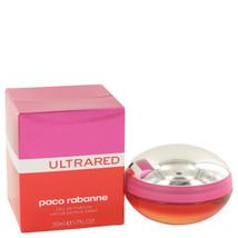 Ultrared by Paco Rabanne Eau de Parfum Spray 1.7 oz New in Box & Sealed. - $38.25