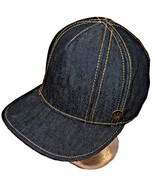Goorin Bros Street Dandy Denim Flat Brim Hipster Tall Crown Baseball Cap... - $69.99