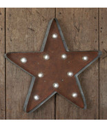 Marquese new Large rustic Led Wall STAR  - $42.00