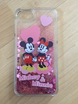 Disney Mickey & Minnie Mouse Liquid Glitter Quicksand Case For iPhone 6/6s Plus - $13.99