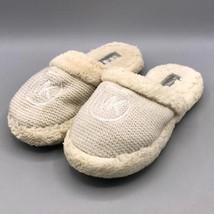 Michael Kors MK Logo White Womens Size 9 Slippers - £14.96 GBP