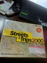 Microsoft Expedia Streets & Trips 2000 (Microsoft) Maps Travel Software ... - $19.00