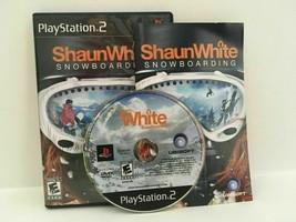 Shaun White Snowboarding (Sony PlayStation 2, 2008) - $3.32