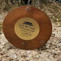 Franklin Mint Elvis Presley Graceland Love Me Tender Music Box Glass Dome Figure image 6