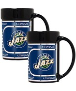NBA Utah Jazz 2-Piece 15 Oz Coffee Mug Set w/ Metallic Graphics - $26.95