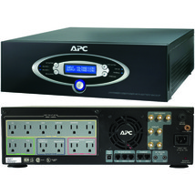 APC J15BLK 12-Outlet J-Type Power Conditioner with Battery Backup (Black; 4,500  - $636.93