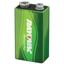 Rayovac Ready-to-use Rechargeable Nimh Batteries (9v; 200mah, Single) RV... - $23.93