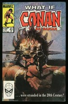 What If 43 Conan the Barbarian were stranded in 20th Century Comic Bob H... - $20.00