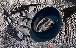 HAUNTED RING metaphysical Mothman spirit of Aleister Crowley djinn of underworld - $49.97