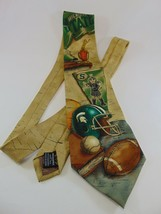 Clemson Tides Ties Mens Necktie Licensed Neck Tie MSU Spartans 100% Silk - $9.89
