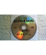 Alpha Dog (DVD, 2007, Widescreen) - $3.45