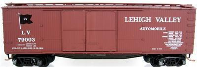 Micro Trains 41020 LV 40' Boxcar 79003