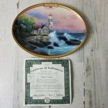 Hopes Cottage Collector Plate Thomas Kinkade Scenes Of Serenity 1995 COA - $14.54