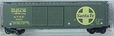 Micro Trains 34240 SF 50' Boxcar 4260