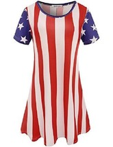 Flag Apparel Womens Dress Casual Stretchy Tunic... - $34.60
