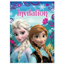 Disney Frozen Invitations, 8ct - $4.89