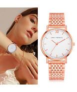 Lvpai® Unisex Fashion Watch Stainless Steel Rose Gold Business Quartz Wr... - $7.99