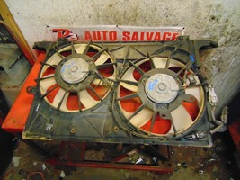 15 14 13 12 11 10 09 08 Scion XB oem 2.4 dual radiator cooling fan assembly - $59.39
