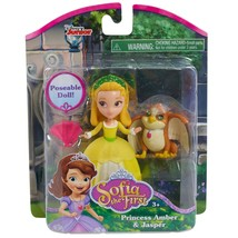 Disney Junior Sofia the First Princess Amber and Griffin Poseable Doll - $16.82
