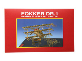 Fokker DR.1 Model by Aerobase – New, Beautiful and Unique Models from Japan - $65.33