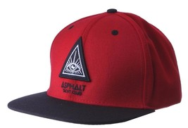 Asphalt Yacht Club Mens Triangle Eye Snapback Baseball Hat Cap NWT image 2