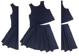 Ralph Lauren Girls' Navy Top & Skirt Set, Size 2/2T - $27.71