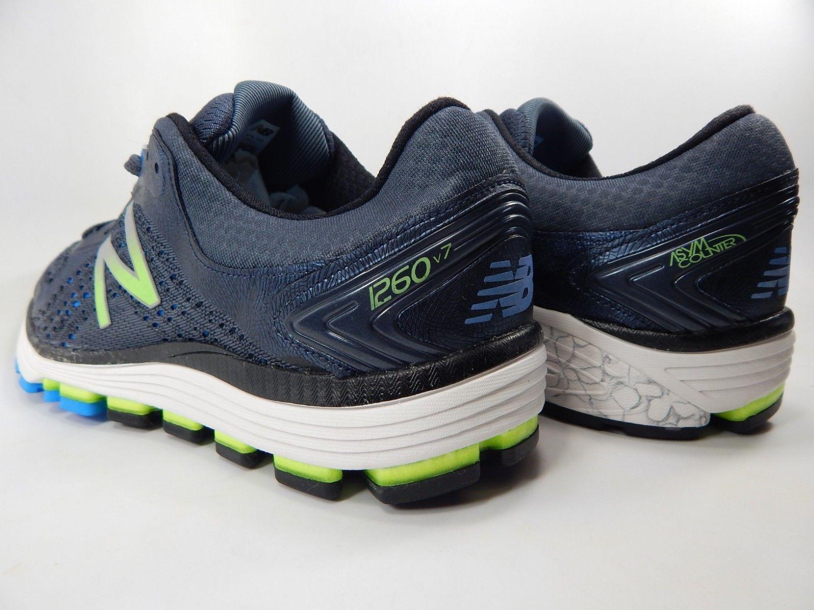 New Balance 1260 v7 Size 10.5 M D EU 44.5 Men's Running Shoes Blue M1260BB7