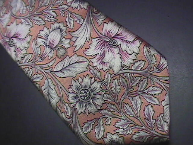 Christian Dior Monsieur Italian Silk Neck Tie Softs Silvers and Golds