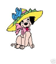 Dress-up Puppy Crochet Graph Afghan Pattern - $5.00
