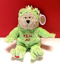 Starbucks Kiss Me Frog Prince 2004 Bearista Bear Plush Stuffed Toy Coffee 29th - $11.99