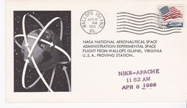 NIKE-APACHE RCKET FIRED WALLOPS ISLAND, VA APRIL 6, 1966 - $1.78