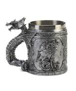 Stainless Steel Dragon Mug - $20.69