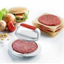 Hamburger Patty Maker Home Made Ham Manual Meat Press Cutlet Mould Kitch... - $22.99