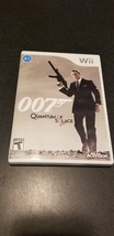 James Bond 007: Quantum of Solace (Nintendo Wii, 2008) Complete - $5.94