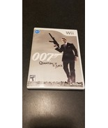 James Bond 007: Quantum of Solace (Nintendo Wii, 2008) Complete - $5.94