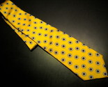 Tie brooks brothers makers yellow with white blooms 05 thumb155 crop