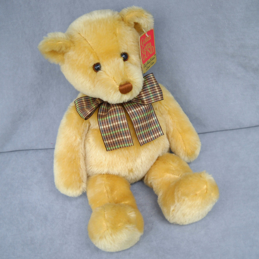 Teddy Bear Gund Collectible Hundred Year Mohair Snookums