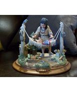 Little Bluebird's Lullaby, Iroquois, Native Ame... - $80.00