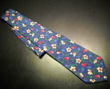 Tie brooks brother makers blue with flowers 06 thumb155 crop