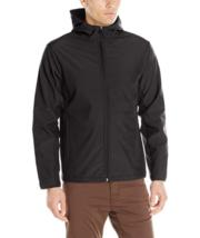 XL Colorado Clothing Men's Antero Hooded Softshell Jacket Full Zip Black NEW