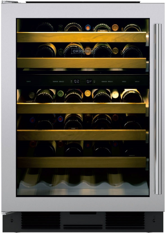 "Primary image for Sub-Zero UW24STHLH 24"" Undercounter Wine Cooler 46 Bottle Capacity in Stainless"