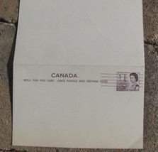 Canada Pre Cancel Post Cards unused 2 on sheet 3 cents - $9.98