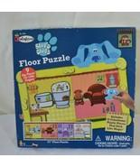 """Blue's Clues Colorforms 51"""" Floor Puzzle 1998 Viacom Nick Jr. - $14.84"""