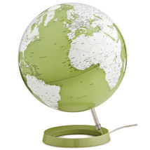 Light & Color Designer Series 12-inch Diameter Illuminated Green Desk Globe - $129.99