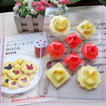 Cute Animal Set Multiple Use 8 Different Shape Rabbit Bear Plastic Cooki... - $15.00