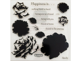 Close to My Heart Floral Happiness Clear Stamp Set #S1303 image 2
