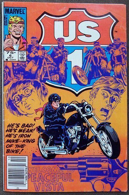Comic Marvel US 1 High Adventure Highway No 6 Oct 1983