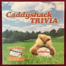 Caddyshack Trivia Game - Over 1,000 Trivia Questions NIB USAopoly  - $9.79